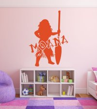 Disney Princesses Wall Decals - Moana - Disney Home Decor ...