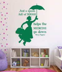 Disney Wall Decals - Mary Poppins - Disney Home Decor ...