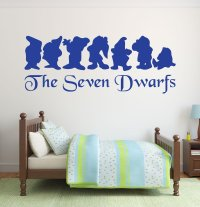 Disney Wall Decals - Snow White and the Seven Dwarfs ...