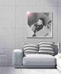 Foto en aluminio, formatos cuadrados 1:1