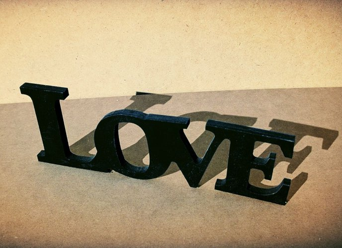 Letras Love pequeñas tips decoración