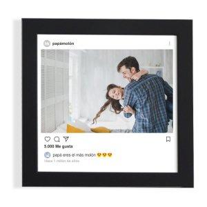 regalo divertido para papa cuadro instagram