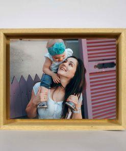 Float frame de madera