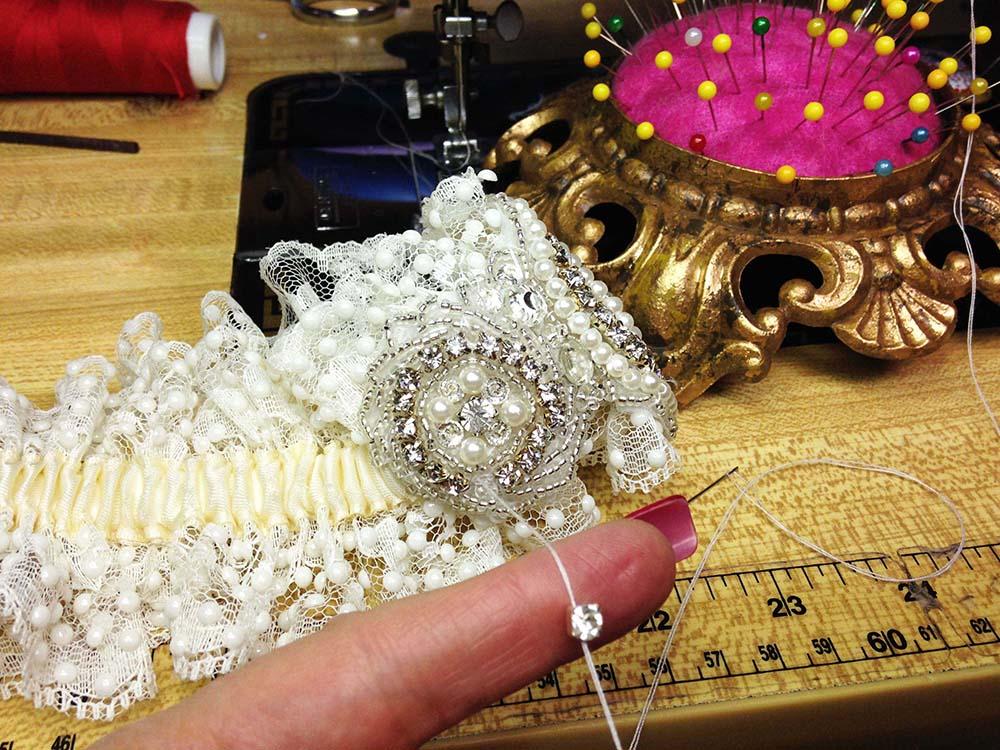 ICouture Wedding Garters-Linda Joyce Couture- Custom Wedding Garters