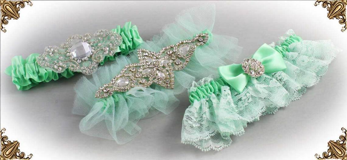 531-Mint-Green-Wedding-Garters-531