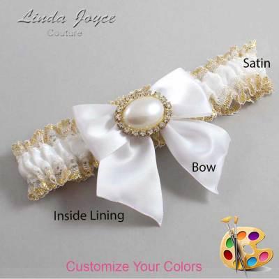Customizable Bridal Elegant Wedding Garter