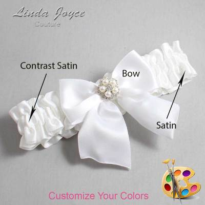 Customizable Wedding Garter / Kourtney #01-B01-M20