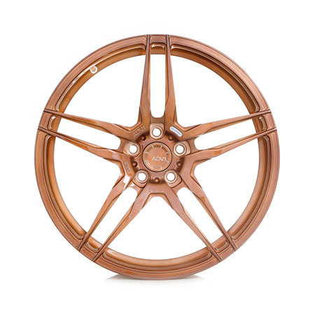 adv1 wheels light weight racing mono block bronze aftermarket rims D