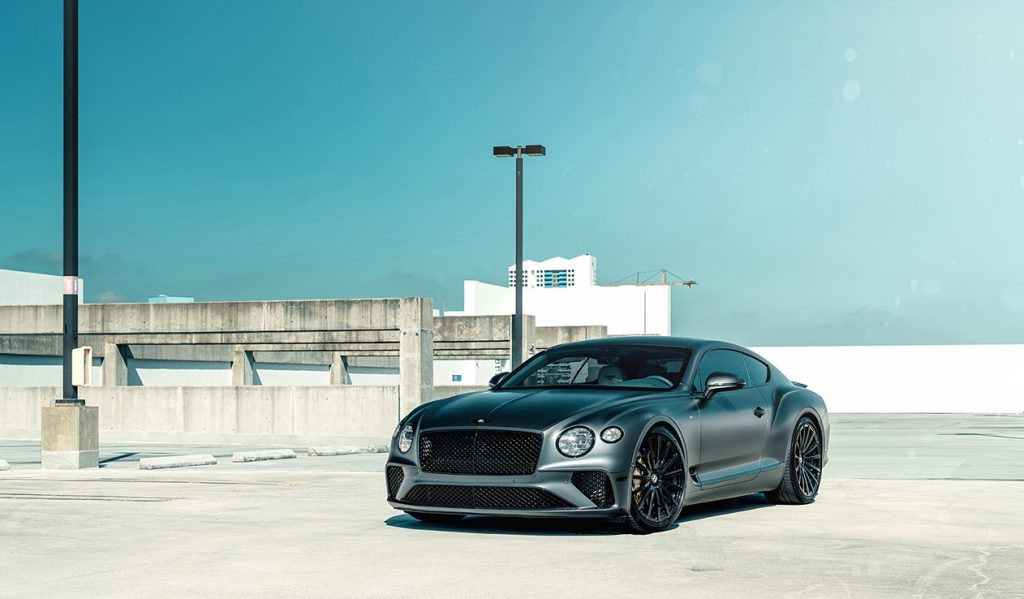 bentley continental gt agl20. Кованые диски для Bentley Continental GT