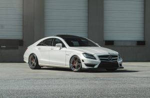 mercedes benz cls 63 amg. AG Luxury. Кованые диски AGL15 на Mercedes-AMG CLS63