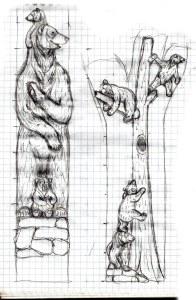 Bears sketch Roy Rufus