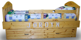 J Lee Personalized Twin Bed