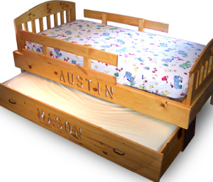 J Lee Personalized Trundle Bed