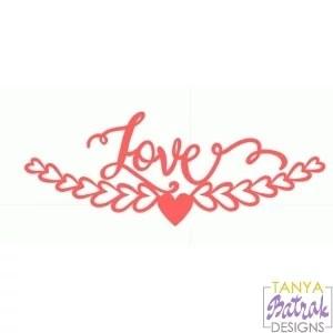 Download Love Border svg file