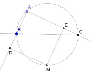 Thanos Kalogerakis's Problem in Circle and Square