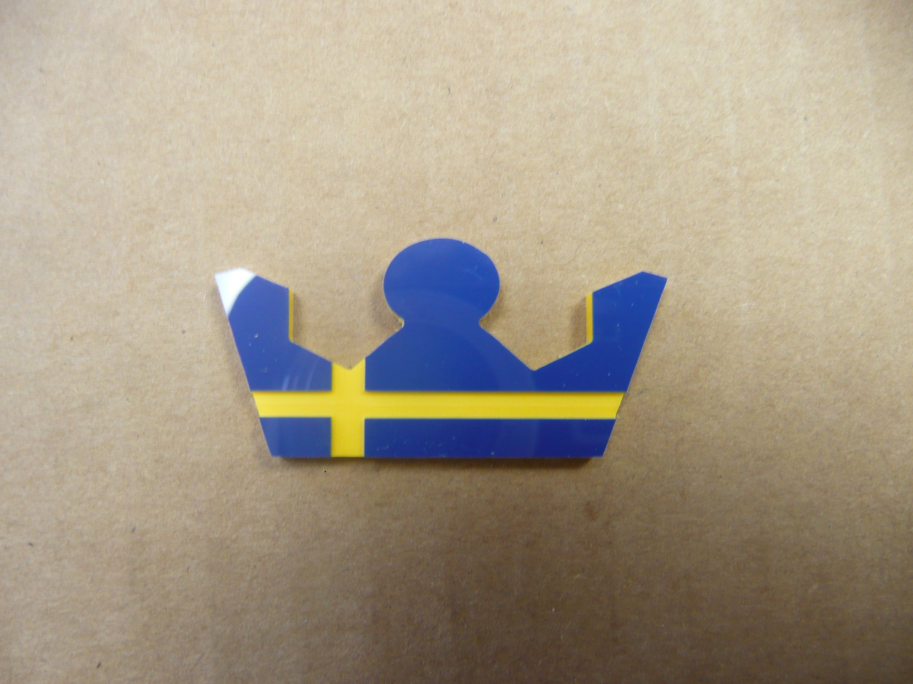 Volvo Swedish Krona Badges