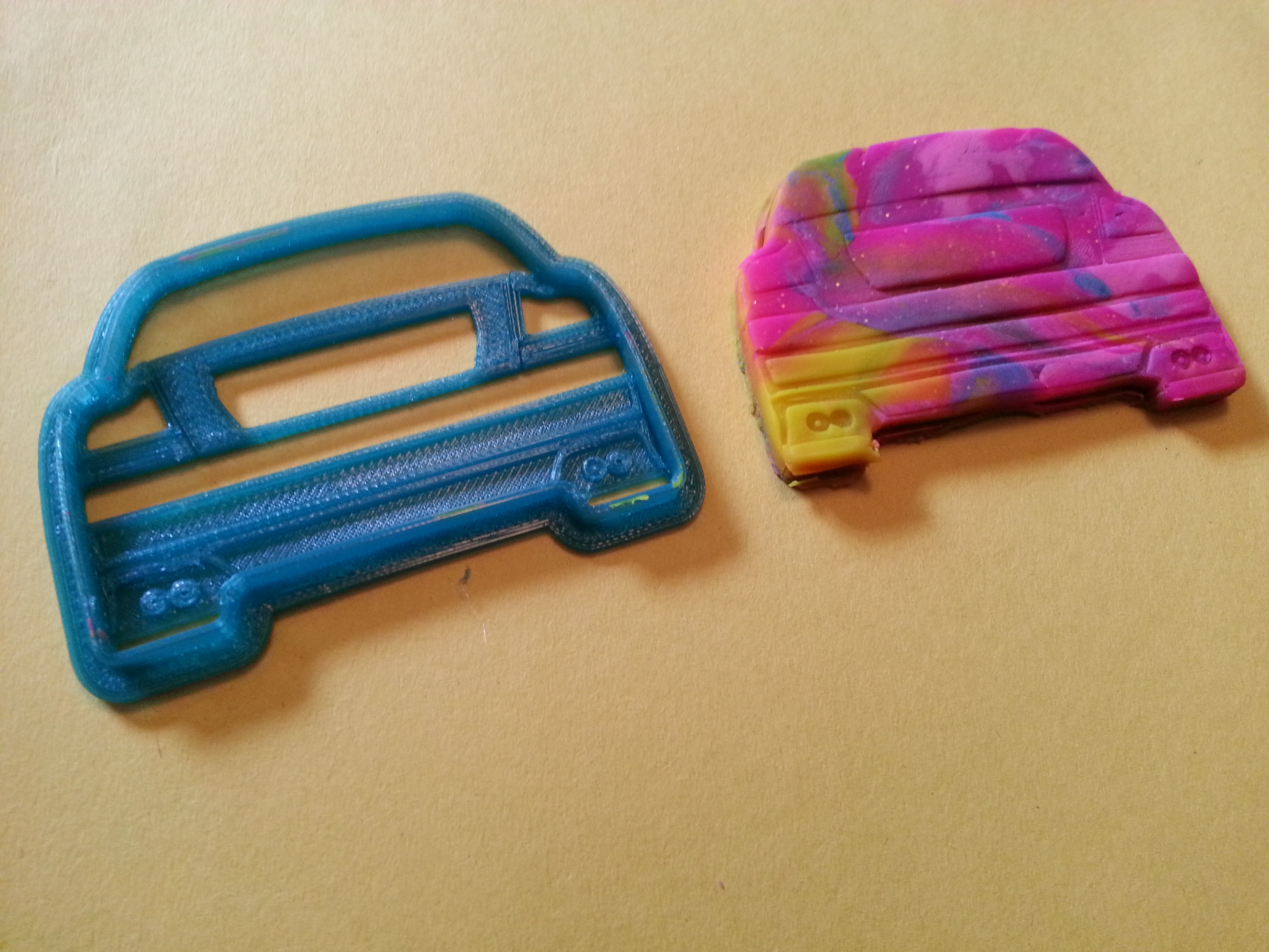 Fun/Project: Volvo S60R Cookie Cutter – 3D Printed