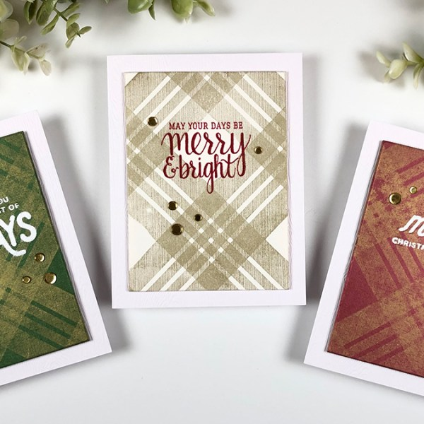 CAS Vintage Christmas Cards
