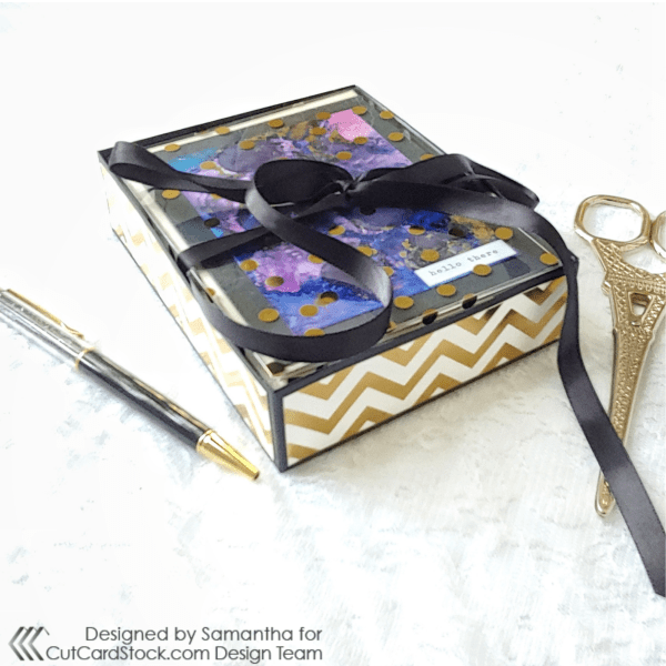 A2 Card Gift Box Style 2