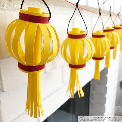 Chinese New Year Paper Lanterns