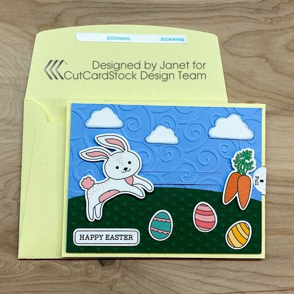 Rabbit Slider Card