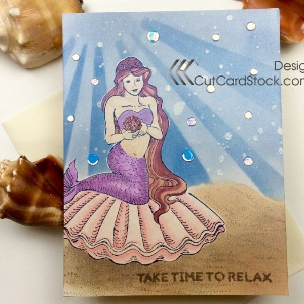 I Wanna be a Mermaid with CutCardStock