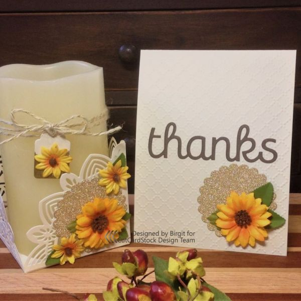 Sunflower Hostess Gift Set
