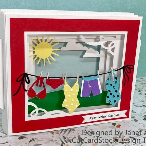 Summer Shadow Box Card