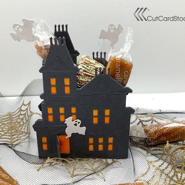 Spooky House Halloween Treat Box