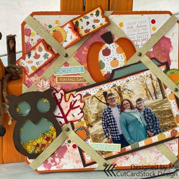 Autumn Ribbon Board