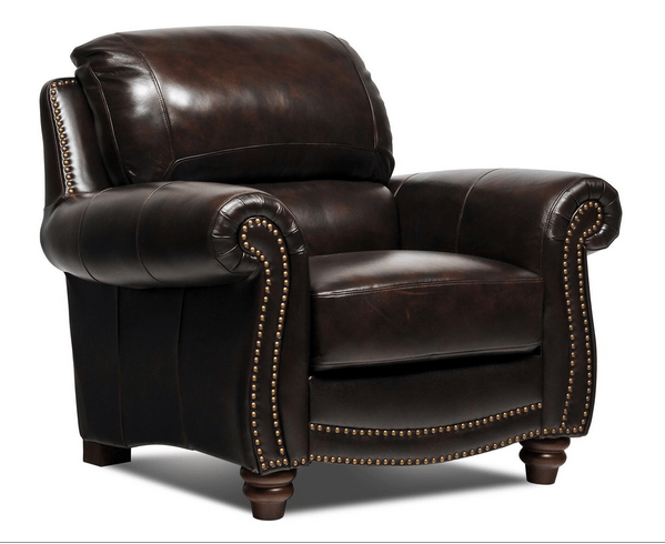 11 Classical Leather Living Room Chairs