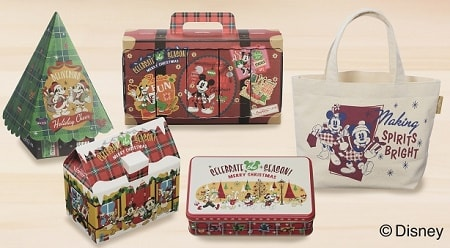 cozytittle min - ディズニー・デザイン「クリスマス限定スイーツギフト」銀座コージーコーナーさんでGET!!