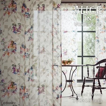"alice10 min - ディズニーシリーズ""Alice in Wonderland""のインテリアファブリックでお部屋の模様替え?!"