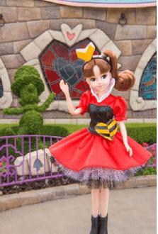 doll02 min - 東京ディズニーリゾートのかわいい♥ファッションドール!!
