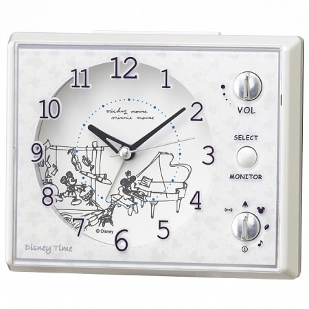 mickeytokei01 min - SEIKO(セイコークロック)さんからミッキーマウス&ミニーマウス / ふしぎの国のアリスをモチーフにした時計が発売されます。キュート♥