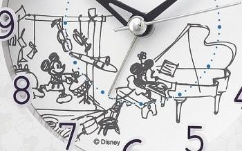 mickeytokei02 min - SEIKO(セイコークロック)さんからミッキーマウス&ミニーマウス / ふしぎの国のアリスをモチーフにした時計が発売されます。キュート♥