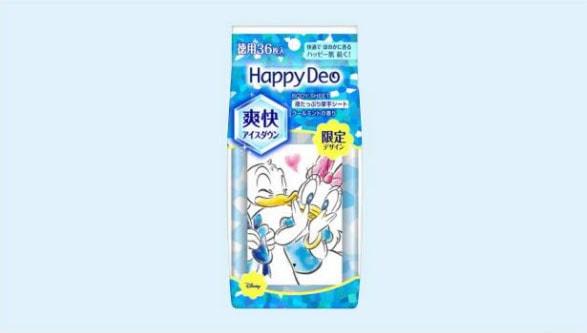 happy min - マンダム ハッピーデオ 〜 ディズニーデザインが新しくなって新発売!!