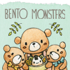 Bento Monsters Buttons - キャラ弁「ディズニーツムツム」〜 かわいいツムツムおにぎりレシピ付き!