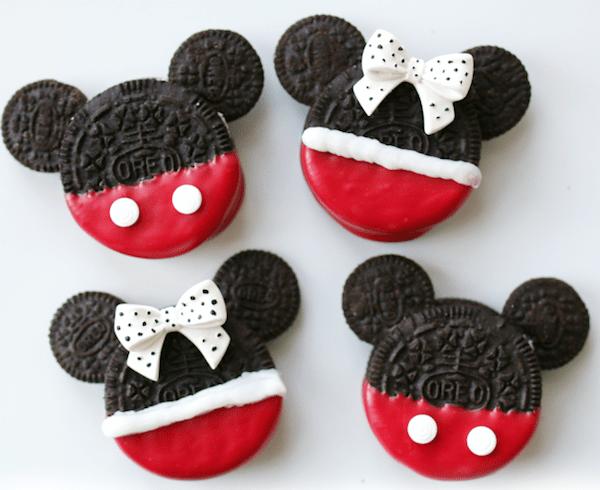 coo01 min - ミッキーマウスとミニーマウスのクッキーがオレオで簡単に作れてしまう 〜 レシピご紹介!!