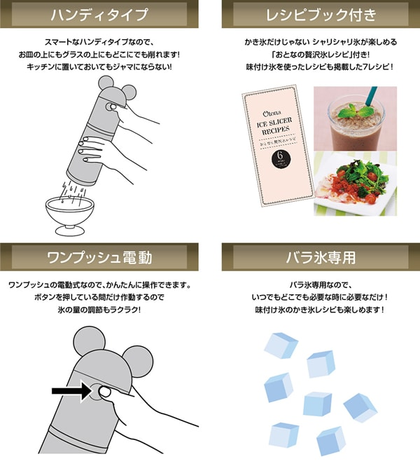 deisney ice04 min - かき氷、フラッペ、夏の楽しみ 〜 ミッキー型のかき氷機を知ってる?!