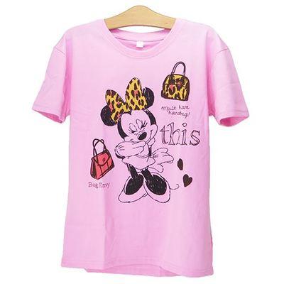 minnie t04 min - Tシャツを楽しむ 〜 ミッキー&ミニー Tシャツ25点 大集合!!