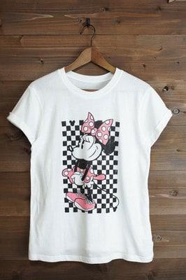 minnie t10 min - Tシャツを楽しむ 〜 ミッキー&ミニー Tシャツ25点 大集合!!