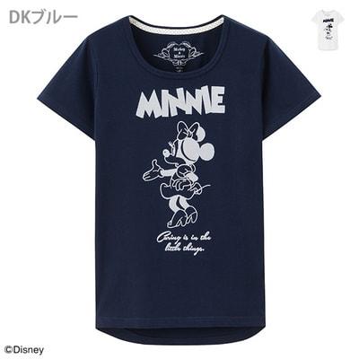 minnie t12 min - Tシャツを楽しむ 〜 ミッキー&ミニー Tシャツ25点 大集合!!