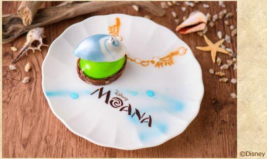 moana01 min - ディズニー新作映画「モアナと伝説の海」のスペシャルケーキが登場|東京ディズニーランド(R)ホテル!!