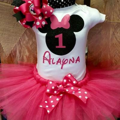pink min - ディズニー ハロウィン衣装 〜 ミニードレスをハンドメイドしよう!!