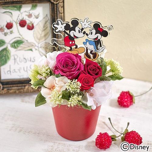 6798TF2731 min - 母の日の贈り物は ディズニー フラワーギフト !!|日比谷花壇さんのお花アレンジが素敵❤︎