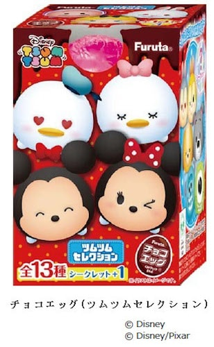 chocoegg01 min - チョコエッグ ディズニーシリーズ ツムツムセレクション 〜 フルタのチョコ菓子!
