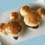 mickey pie01 1 - ミッキーのチョコパイ 美味しい 簡単 かわいいパイの作り方!!
