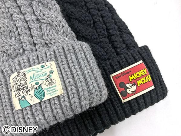 ディズニー ニット帽