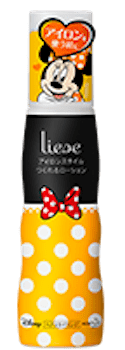 product 3 min - 花王リーゼ&ブーケ|ミニーマウスのデザインボトルでヘアスタイル自由自在!!
